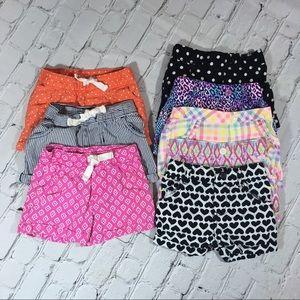 Carter's Bottoms - Bundle of 18 months shorts